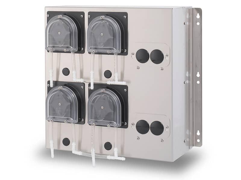 SynchroFeed mit vier Pumpen