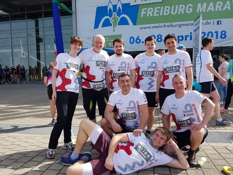 Freiburg Marathon Förster-technik